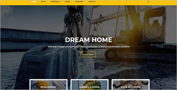 Construction Drupal Theme