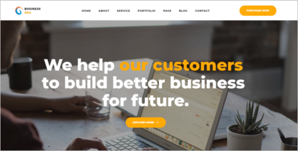 Consultant Company Website Template