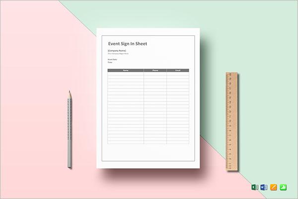 Contact Sheet Cast Template