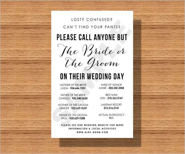 Contact Sheet Template Word