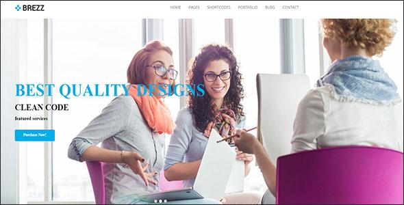 Corporate Portfolio Drupal Theme