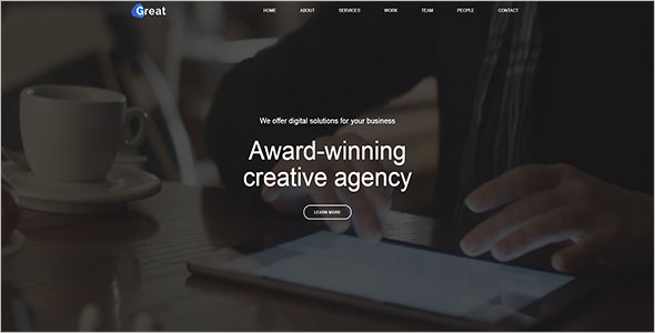 Corporate Agency Bootstrap Template