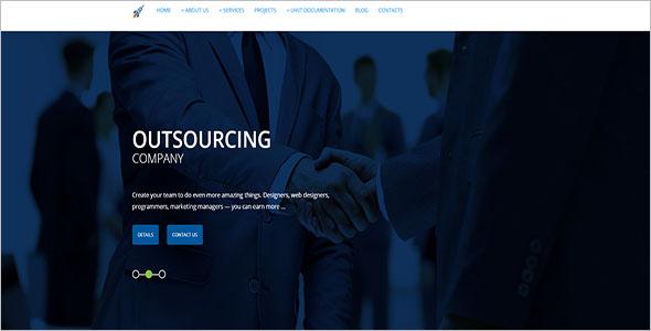 Corporate Agency WordPress Theme