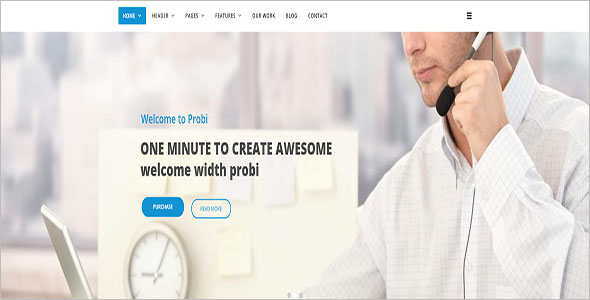 Corporate Business Drupal 8 Theme