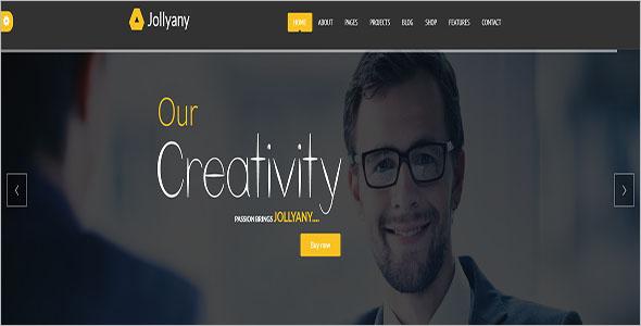 Corporate Company Drupal 8 Theme