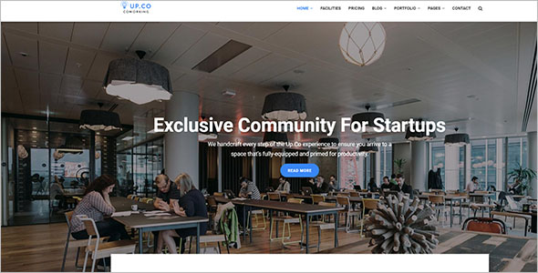 Corporate Drupal 8 Theme