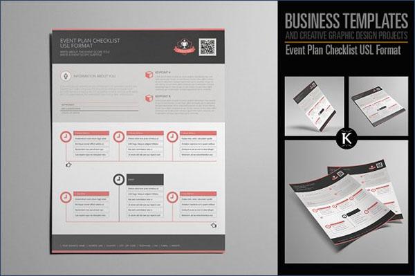 Corporate Event Checklist Template