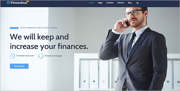 Corporate Finance WordPress Theme