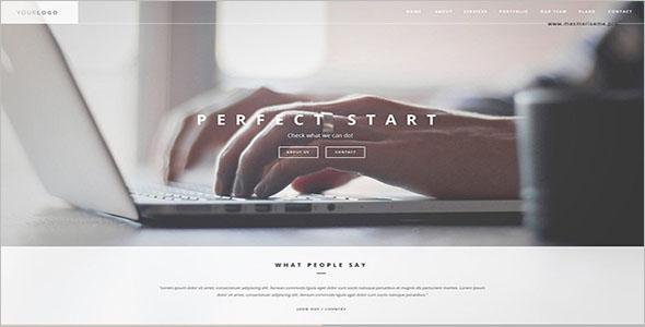 Corporate HTML Website Template
