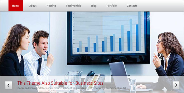 Corporate Hosting Blog Theme