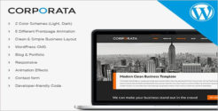 Corporate WordPress HTML5 Template