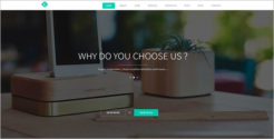 Creative Agency WordPress HTML5 Template