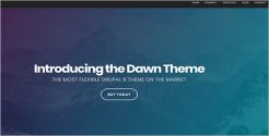Creative Drupal Bootstrap Template