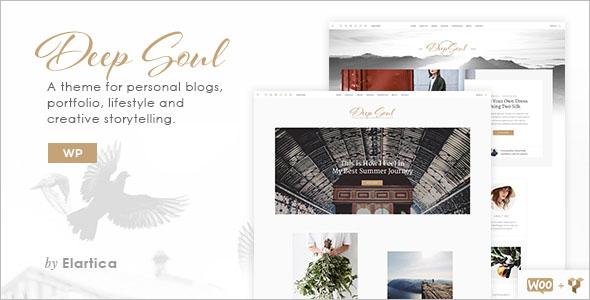 Creative Lifestyle Blog Theme