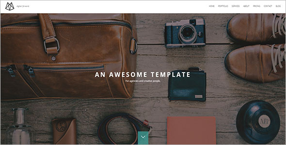 eCommerce One page Drupal 8 Theme