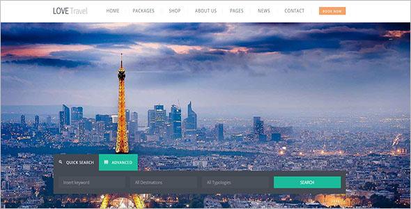 Creative Travel Agency WordPress Theme