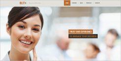 Custom Business WordPress Theme