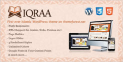 Custom CSS3 WordPress Theme