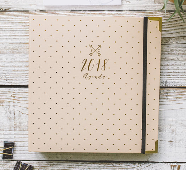 Customize Agenda Planner Template