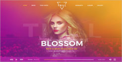 DJ Music Joomla Template
