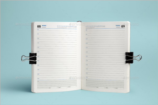 Daily Agenda Planner Template