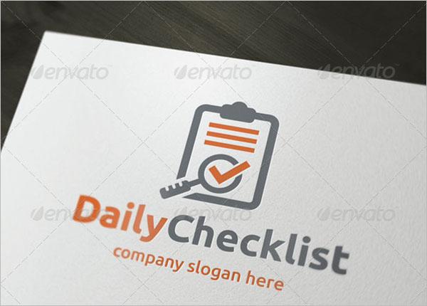Daily Checklist Design