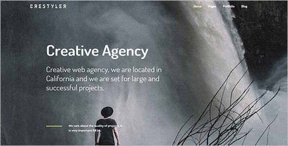 Dark CSS3 WordPress Theme