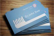 Dental Care Business Card Template