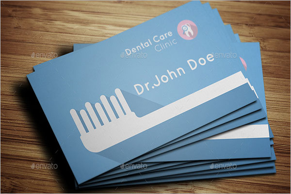 Dental Care Business Card Template
