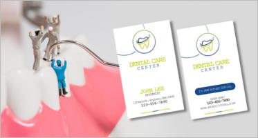 Dental Care Business Card Templates