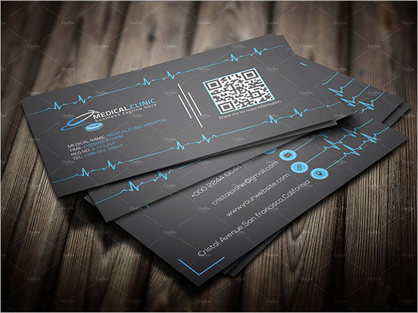 Dental Doctor Business Card Template