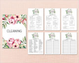 Detailed Cleaning Checklist Template