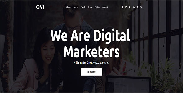 Digital Agency Bootstrap Template