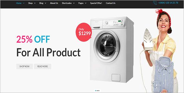 Digital Retail Bootstrap Template