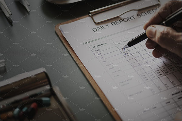 Doctor's Daily Checklist Template