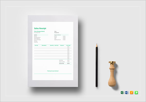 Donation Tax Receipt Template