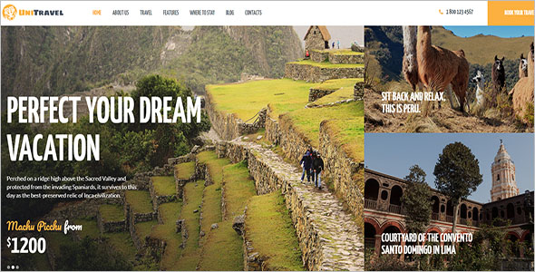 Dream Vacation WordPress Theme