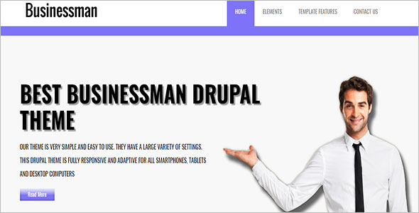 Drupal 8 Corporate Theme