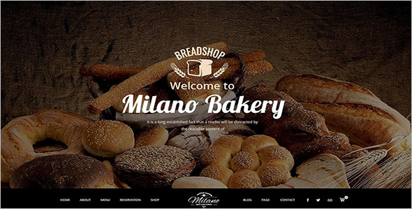 Drupal Food Website Template