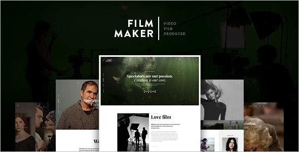 Drupal Video Blogger Template
