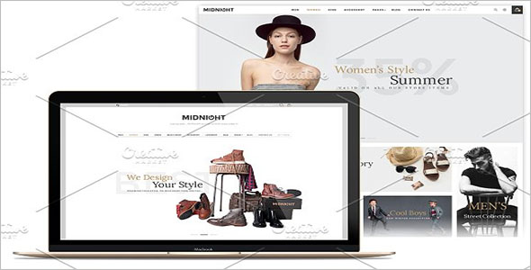 Ecommerce Retail Bootstrap Template