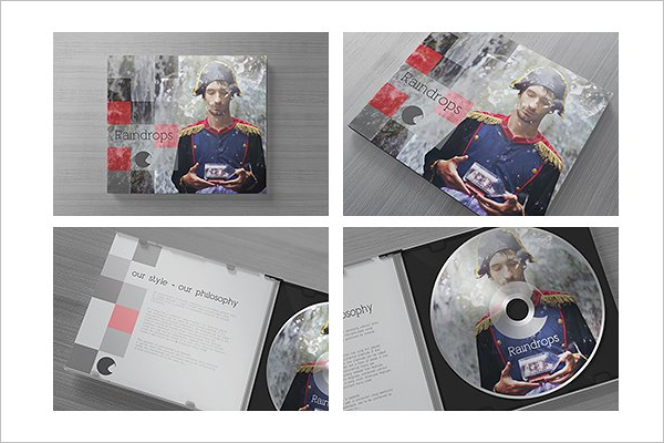 Editable CD Case Template