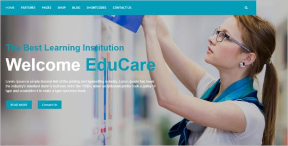 Education Website Theme