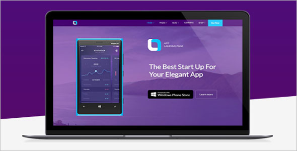 Elegant Consulting Landing Page Template