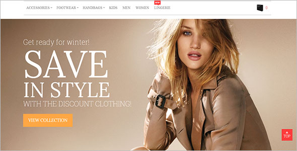 Elegant Fashion Magento Theme
