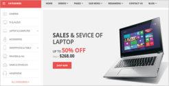 Electronics Store Blog Theme