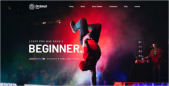 Entertainment Music Joomla Template