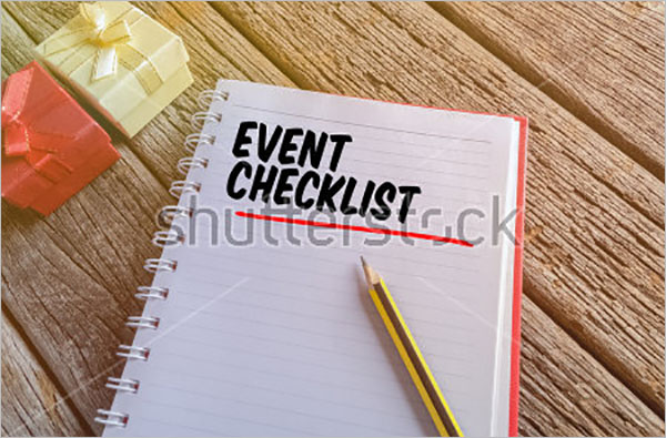Event Checklist Form