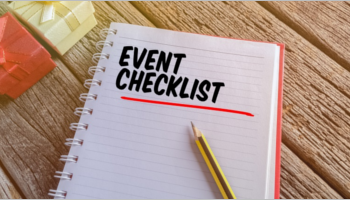 Event Checklist Template