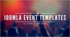 Event Joomla Templates